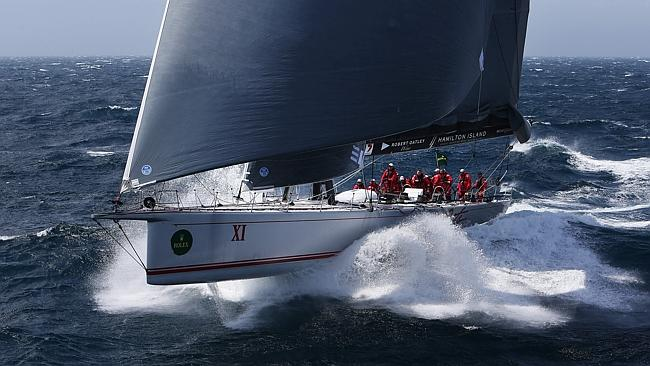 100ft Supermaxi Yacht Wild Oats XI At The 2013 Rolex