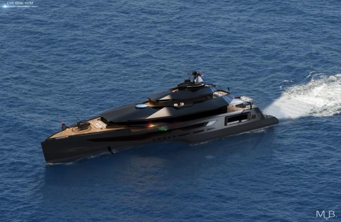 Super Fast 102M Mega Yacht CALIBRE Concept By MUB Yacht Charter Amp Superyacht News