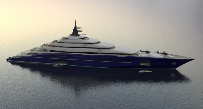 Christopher Seymour Unveils Breath Taking 200M Gigayacht