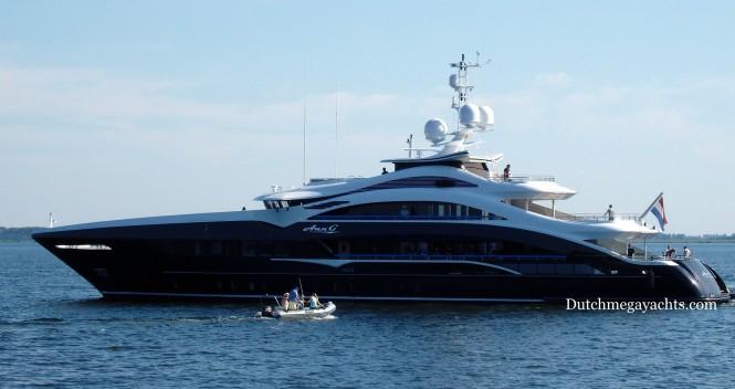 New 50m HEESEN Motor Yacht ANN G YN 17350 Underway Yacht Charter Amp Superyacht News