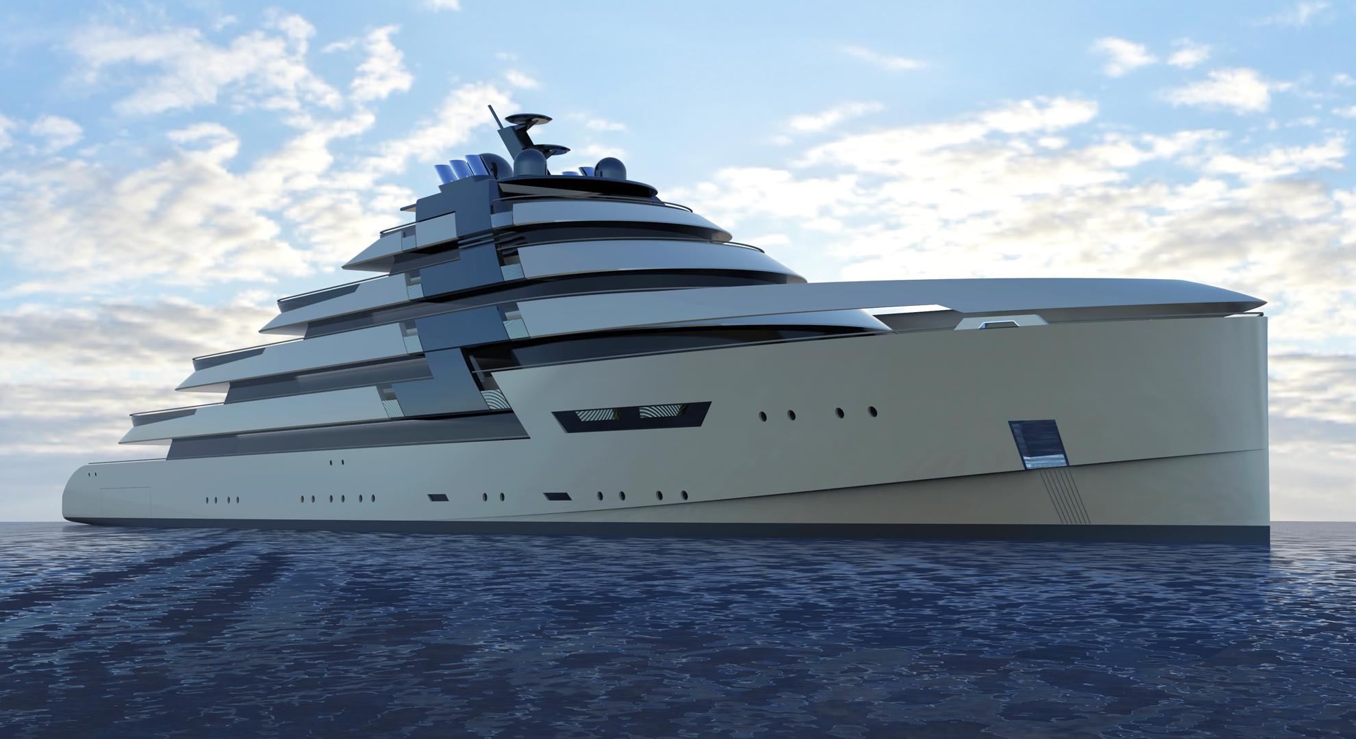 100M Motor Yacht DS1 Concept Yacht Charter Amp Superyacht News