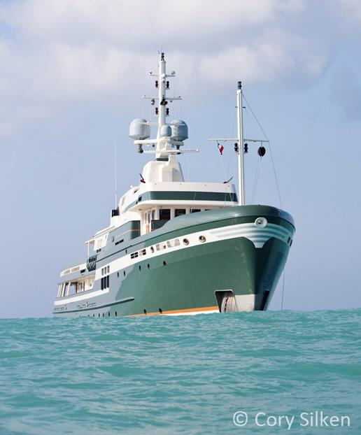 55m Pendennis Yacht STEEL Image By Cory Silken Yacht