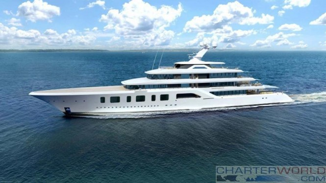 Feadship 92 Meter Yacht Aquarius Launched  Yacht Charter