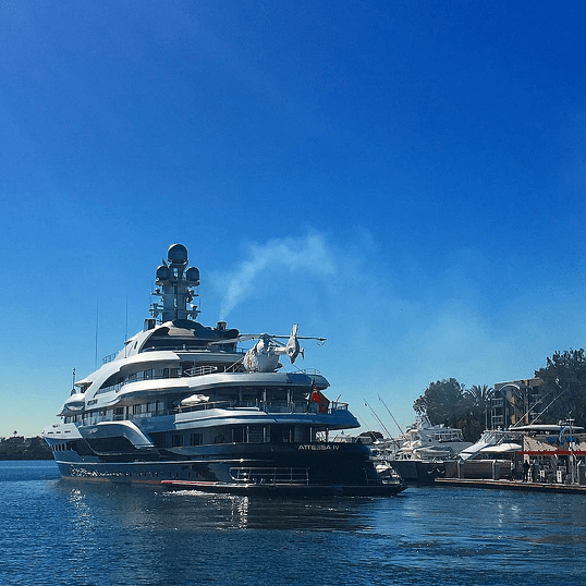 Top 15 Superyachts With Helicopters Yacht Charter Amp Superyacht News