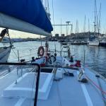 Ponza in barca a vela