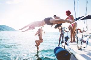 Pontine a vela luglio