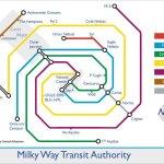 Galaxy Tube Map