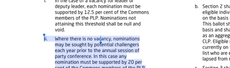 Labour's leadership contest rules: make up your own mind