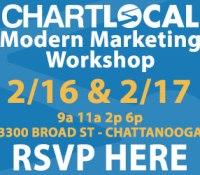 SAVE THE DATE: 2/16 – Modern Marketing Workshop CHATTANOOGA TN