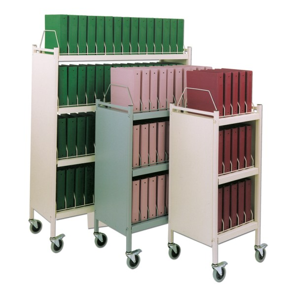Custom- Mobile Binder Carts - Chart Pro Systems