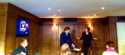 The Architect's Apprentice - Elif Shafak and Leo Johnson at Books For Breakfast