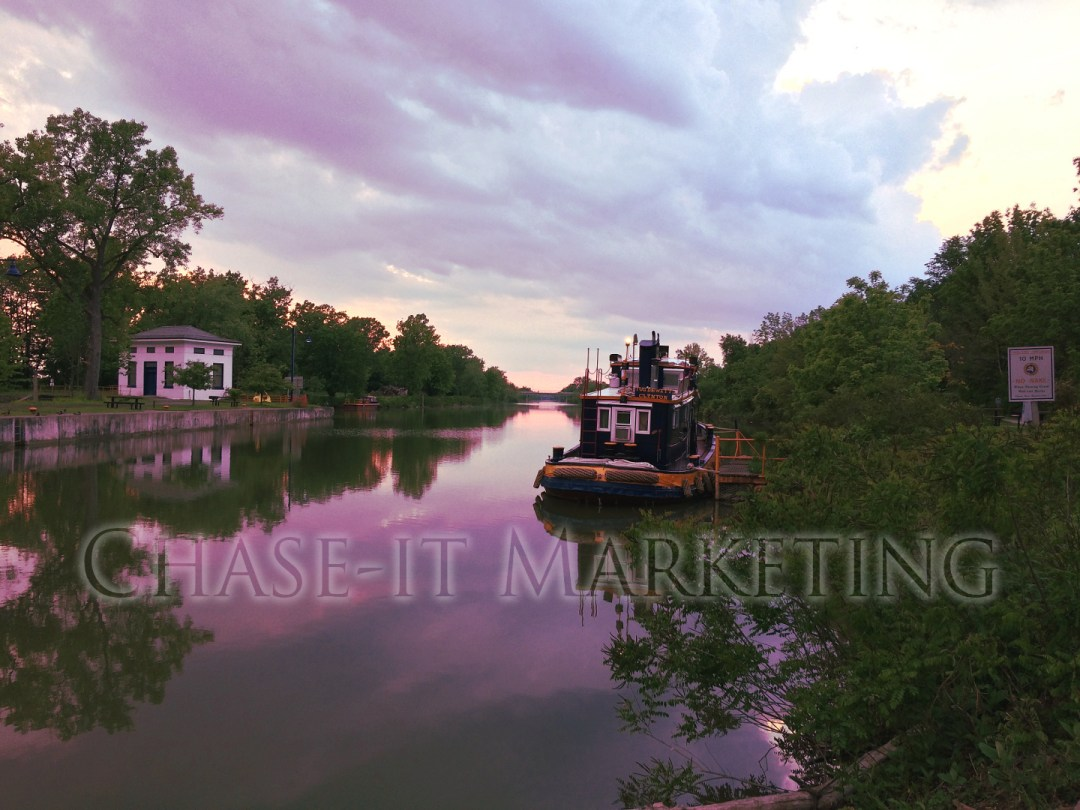 Erie Canal Henrietta NY - Copyright, © 2019 Colin Chase