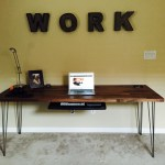 Building A Rustic Industrial Standing Desk Chase Adams