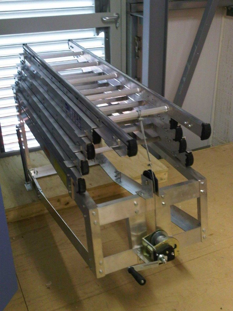 Winch Operated Amp Weight Assisted Ladders Chase Ladders