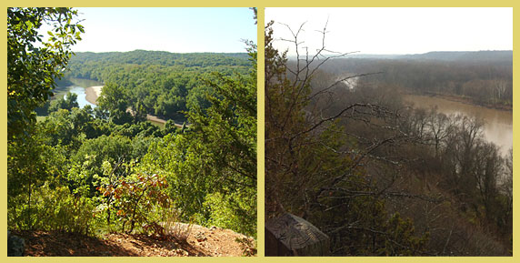 Castlewood State Park in St. Louis County, Missouri