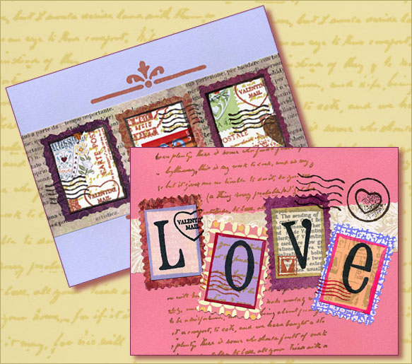 Upcoming Class with Carolyn on February 6: Valentine Cards