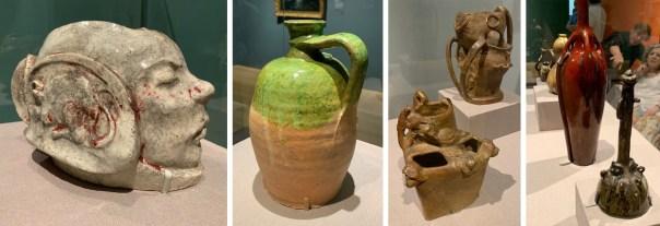 ceramics in the Gauguin show