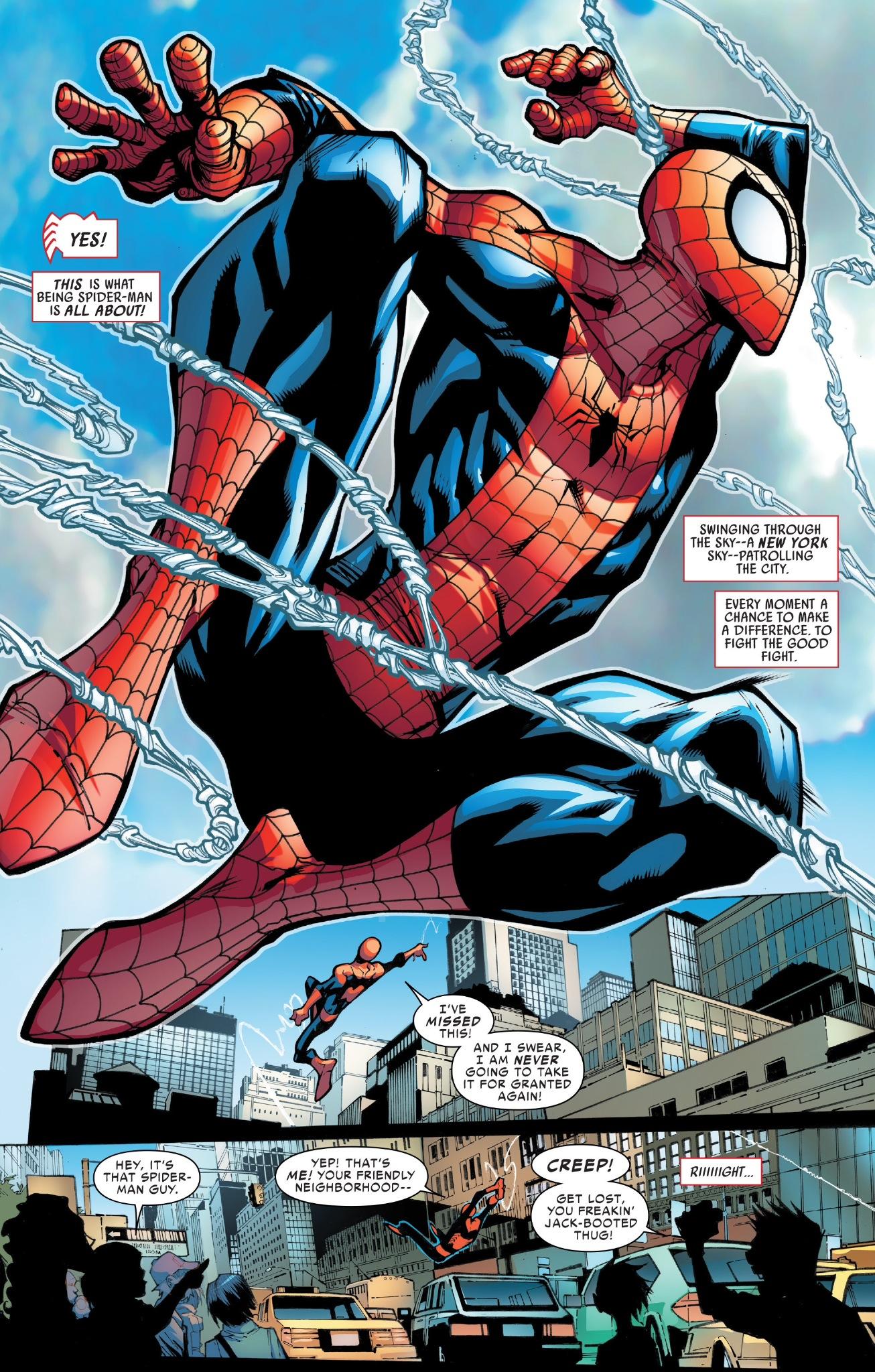 Amazing Spider Man 1 New Volume Familiar Attitude