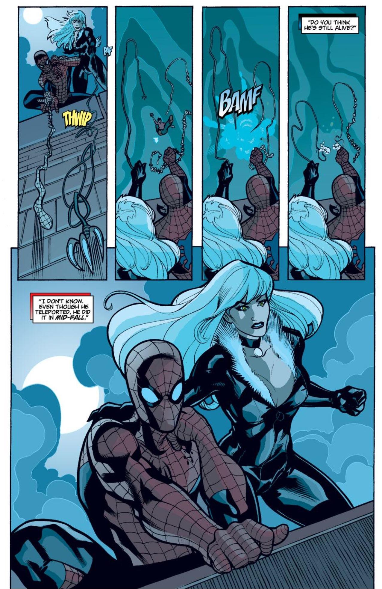 Black Cat Flashback: Spider-Man/Black Cat The Evil That Men Do