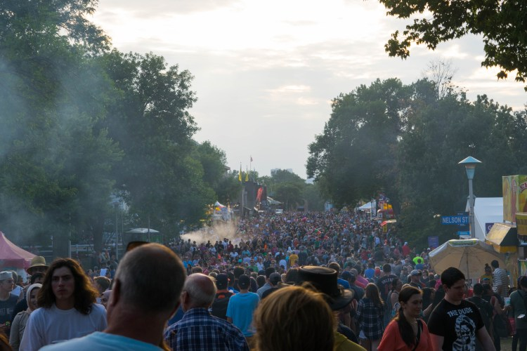 Minnesota State Fair Crowds