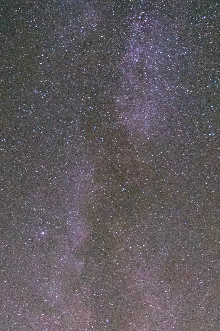 photographing night sky