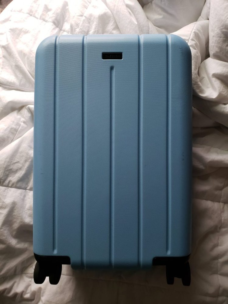 Sky blue Chester Minima Carryon spinner