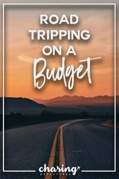 road trip budget pin