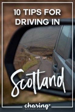 tips for driving in scotland