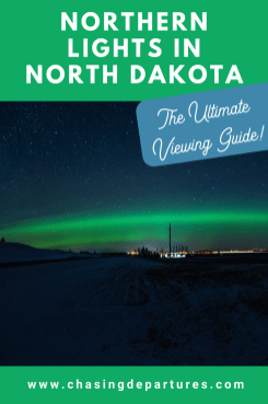 viewing guide northern lights in north dakota