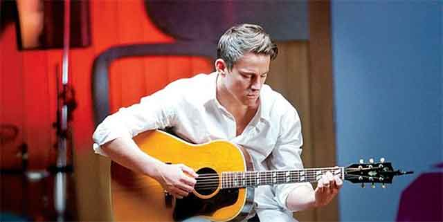 Channing Tatum on Guitar, The Vow