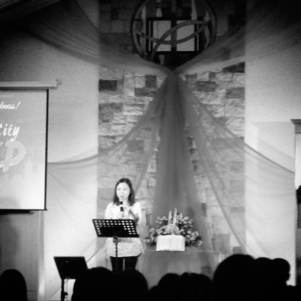 Day 22: Leading worship, speaking to the youth, and lovin' my family