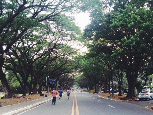 One afternoon at UP Diliman