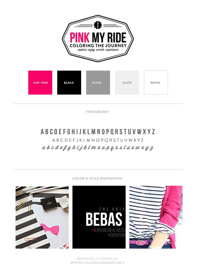 Brand Board: Pink my Ride