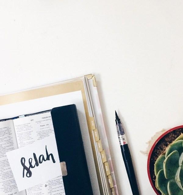 Selah: Pause & Reflect