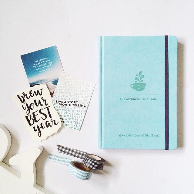 The Coffee Bean & Tea Leaf Giving Journal 2016