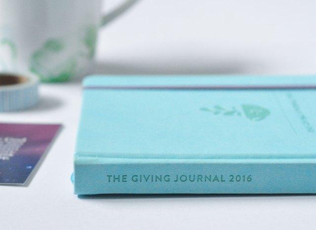Coffee Bean and Tea Leaf Giving Journal 2016