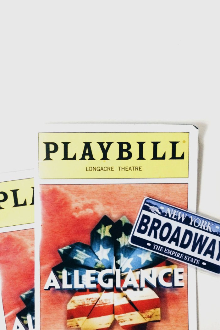 I Wish You All Have Seen Allegiance Broadway