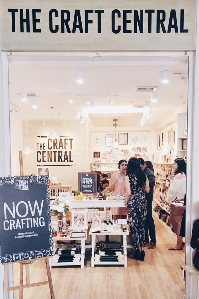 The Craft Central: Crossing Over from Virtual Shop to Physical Store