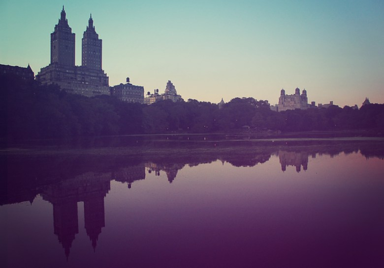 Skyline, view from Central Park