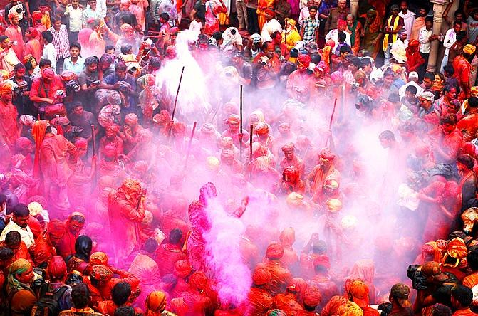 Barsana_Holi_Festival india asia