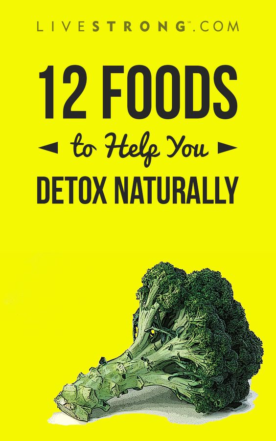 12 Foods to Help You Detox Naturally