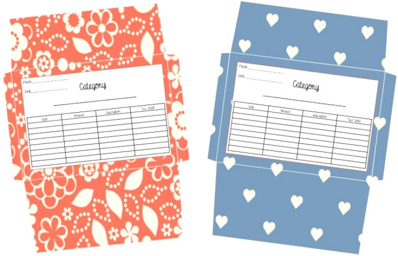 Monthly Budget Sheets & Envelope Printables
