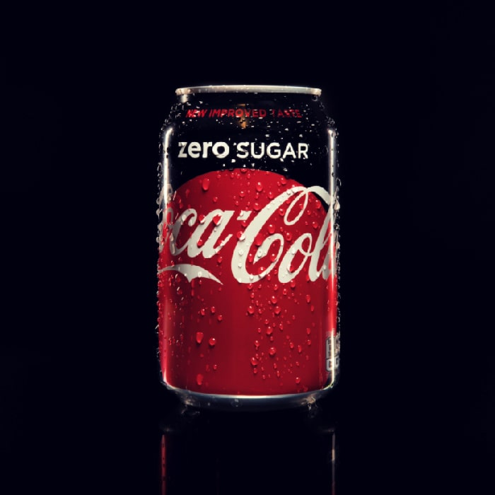 You can't drink diet soda on the Keto diet