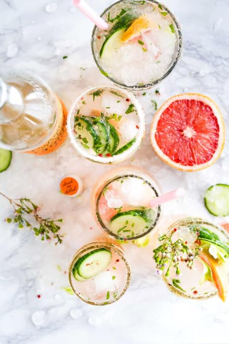 You can't drink cocktails on the Keto diet