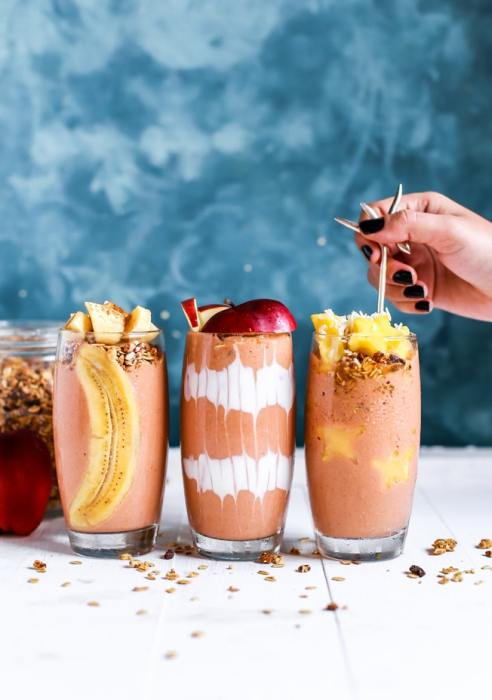 You can't drink smoothies on the Keto diet