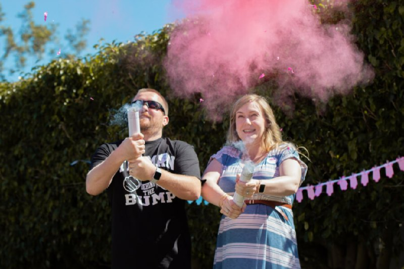Party Popper Gender Reveal