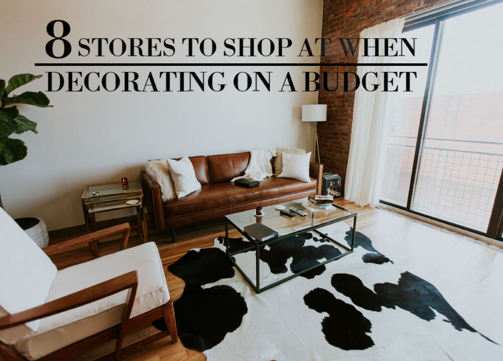 8 Cheap Decor Stores Online For Budget Decoraters