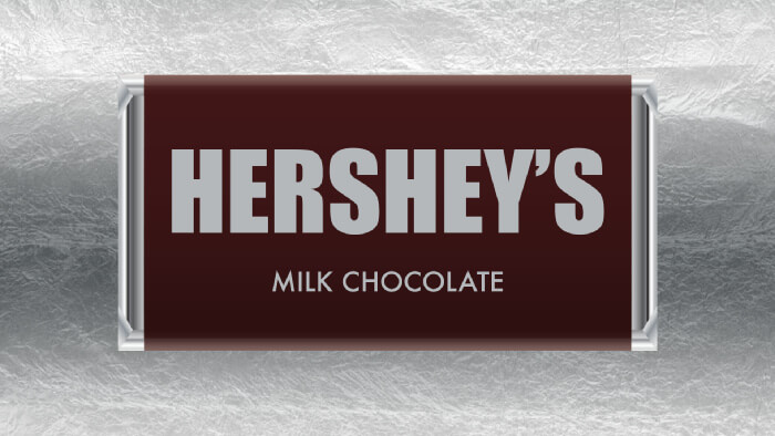 A bar of Hershey's