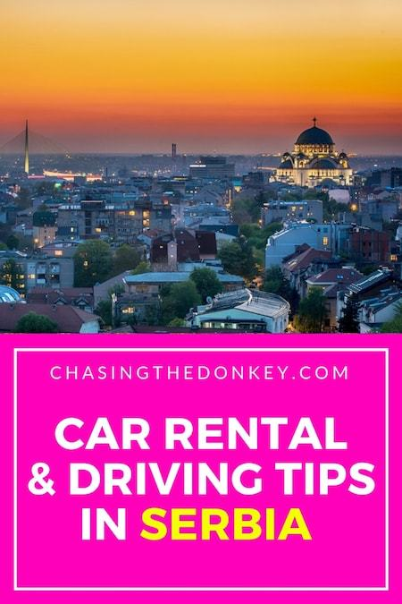 Serbia Travel Blog_Things to do in Serbia_Car Rental and Driving Tips in Serbia