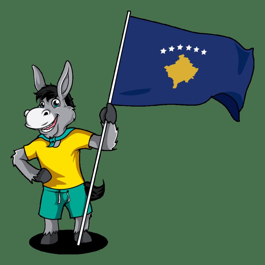 Balkan Flags_Kosovo 2